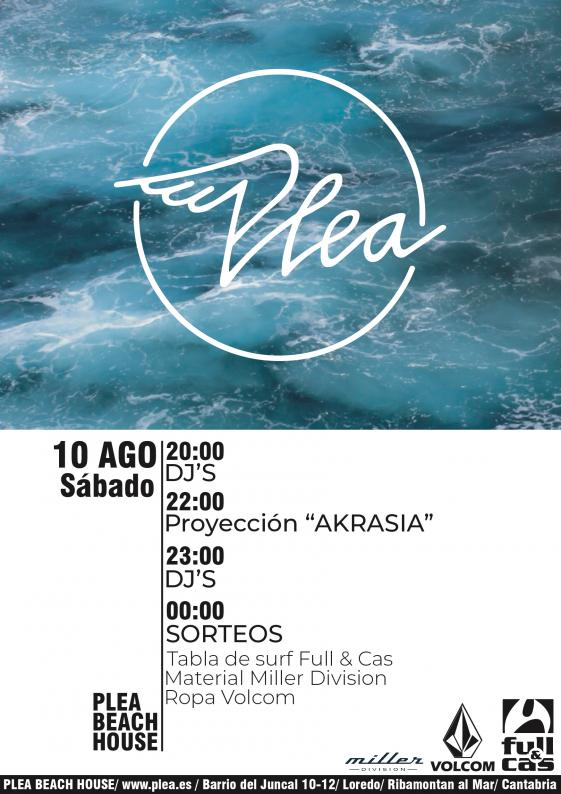 """Presentación """"AKRASIA"""" Marce Botín - Alex Cuesta en PLEA"""
