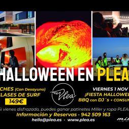 ¡Halloween en PLEA!