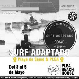 Encuentro Nacional de Surf Adaptado Somo 2019