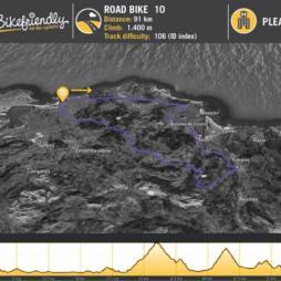 Ruta Bicicleta Carretera Nº10: Ajo - Arnuero - La Bien Aparecida - Campolacruz - Jesús del Monte
