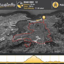 Ruta Bicicleta Carretera Nº12: Somo - Astillero - Peña Cabarga - Solares