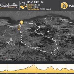 Ruta Bicicleta Carretera Nº14: Hoznayo - Jesús del Monte -Hazas de Cesto - Güemes