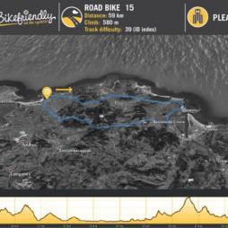 Road Route Nº15: Güemes - Argoños - Santoña - Bárcena de Cicero