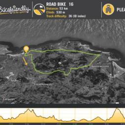 Ruta Bicicleta Carretera Nº16: Hoz de Anero - Beranga - Escalante - Argoños - Ajo