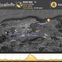 Ruta Bicicleta Carretera Nº17: Somo - Astillero - El Churi - Renedo - Parbayón - Heras