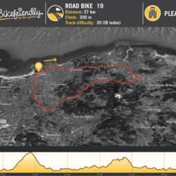 Ruta Bicicleta Carretera Nº19: Ajo - Meruelo - Güemes - Villaverde de Pontones - Suesa