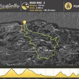 Road Route Nº3: La Braguía - Estacas de Trueba -Lunada