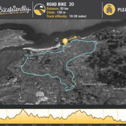 Ruta Bicicleta Carretera Nº20: Ajo - Galizano -Castanedo - Agüero - Rubayo - Somo
