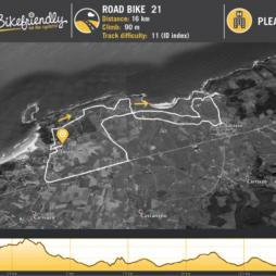 Ruta Bicicleta Carretera Nº21: Loredo - Langre - Galizano