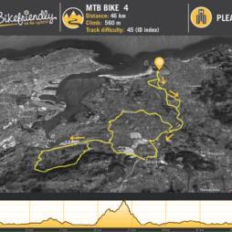 Mountain Bike Route Nº4: Cubas - Solares - Peña Cabarga - Rubayo