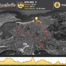 Ruta Bicicleta Montaña Nº5: Castanedo - Hoznayo - Puente Agüero - Setien - Somo