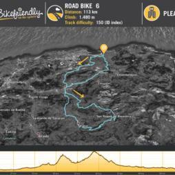 Road Route Nº6: Esles - San Roque de Riomiera - El Caracol - Selaya
