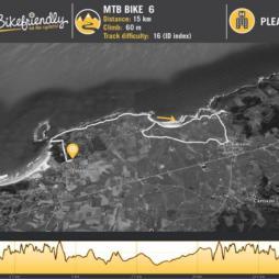 Ruta Bicicleta Montaña Nº6: Acantilados Loredo - Langre - Galizano
