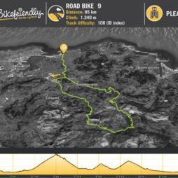 Road Route Nº9: Alisas - Cruz de Usaño - Fuente las Varas