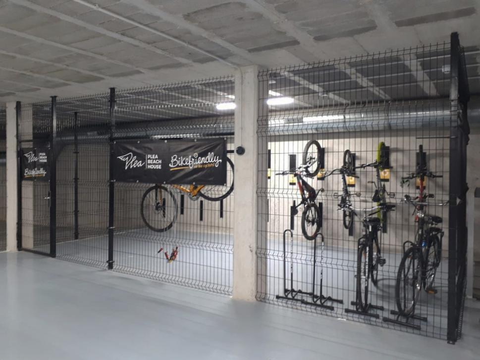 Somos Espacio Bikefriendly, tu bici estará en buenas manos...