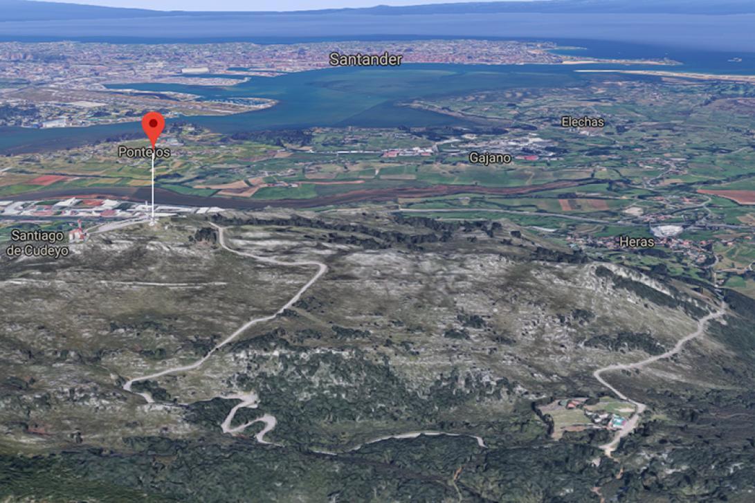 Downhill en Peña Cabarga