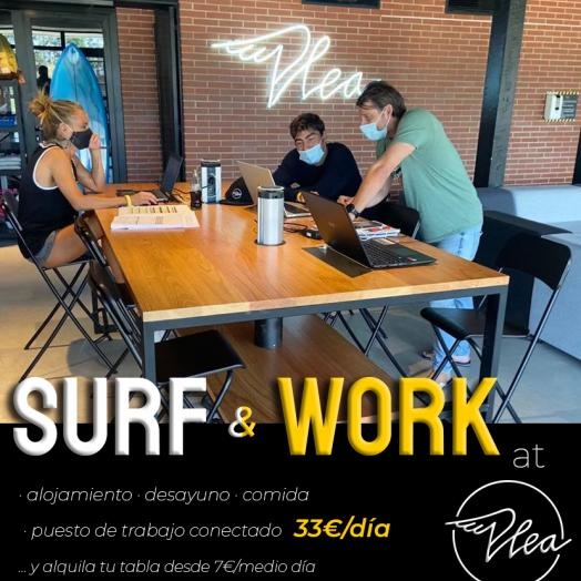 SURF & WORK at PLEA